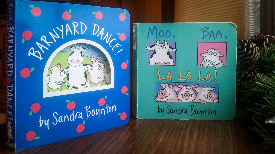 Great kids books by Sandra Boynton